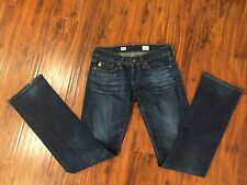 Womens AG Adriano Goldschmied the TOMBOY straight Leg denim jeans Sz 25
