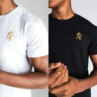 Gym King Mens Crew Neck Jersey Casual Fitted Slim Designer Origin T-Shirt Tee