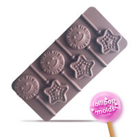 Chocolate Lollipop Silicone Mold Candy  Ice Cube Tray Cake Jelly Baking Mould