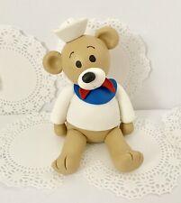 Sailor Bear.Cake Topper.