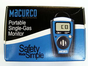 Macurco CM-1 Single-Gas Monitor 70-0714-0204-7