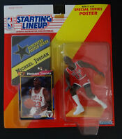1992 Starting Lineup Michael Jordan Chicago Bulls Kenner NBA Basketball Figure