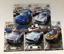 SALE!  Cars & Donuts 5 Car Set * Hot Wheels Car Culture w/ Impreza * JD16