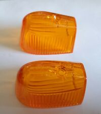 Vintage Dietz DZ 77-101 Cab Light Amber Lens PC-71 Classic Truck (pair 2pcs )