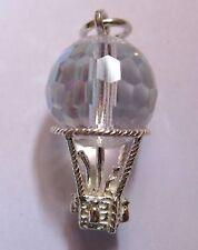 Sterling Silber österreichisches Kristall Luftballon Charm