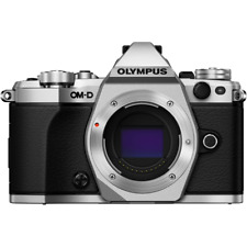 Olympus OM-D E-M5 Mark II Digital Camera Body - Silver