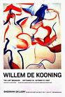 Willem De Kooning LAST BEGINNING Original Art Exhibit Poster SET 2x3 NYC 2007