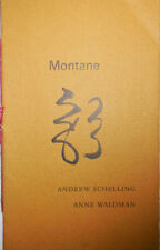Andrew Schelling, Anne Waldman / Montane Signed First Edition 1999