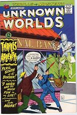 Unknown Worlds #54 - British Bobby Ghost Cover - 1967 (8.5/9.0) WH
