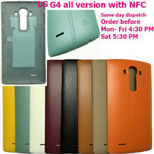 LG G4 All Version Rear Battery Back Cover Leather Colour Case Door With NFC