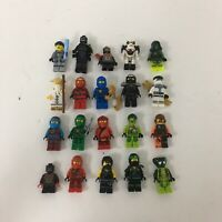 Lego Ninjago Minifigure Lot X20 Kai Cole Jay Zane Lloyd Wu Snakes Garmaddon + #1