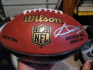 Rare Antonio Brown Signed Autographed official Wilson custom Football 1 of kind
