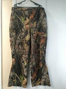 Woolrich Mossy Oak Break Up Camo Cargo Pants Nylon Lining Mens XL Waterproof