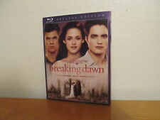 The Twilight Saga: Breaking Dawn - Part 1 (Blu-ray Disc, 2012) with Slipcover
