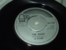 AL WILSON The Snake/Willoughby Brook 45 Bell UK Import Northern Soul Funk 1974