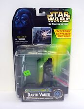 Star Wars Darth Vader Power Of The Force Figura electrónico F/x MOC COMPLETO