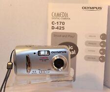 OLYMPUS CAMEDIA C-170 Digital Camera ,4 meg , FULLY WORKING