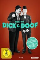 BEST OF DICK & DOOF/FAN-EDITION - LAUREL,STAN/HARDY,OLIVER  10 DVD NEU