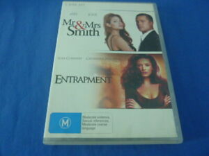 Mr & Mrs Smith / Entrapment - DVD - Region 4