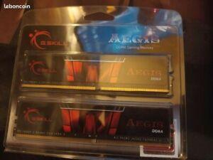 G.Skill Aegis DDR4 2 x 8 Go 2400 MHz CAS 17