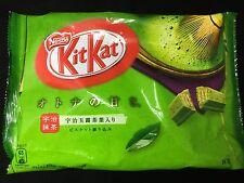 Matcha Green Tea KitKat Japanese Sweet Candy - Chocolate snack cookie Nestle