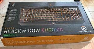Clavier RAZER BLACKWIDOW CHROMA OVERWATCH LIMITED EDITION FROM USA !