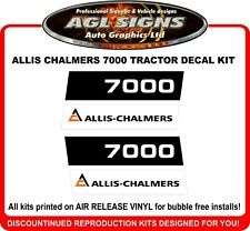 ALLIS - CHALMERS 7000 Reproduction Decal Kit