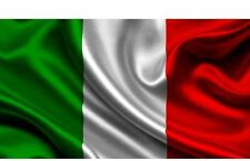 Bandiera con asola per asta 100x140 cm ITALIA Tricolore tifo stadio R370B