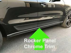 FOR MERCURY 1996-2011 ROCKER PANEL Body Side Molding CHROME Trim 2pc