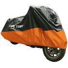 XXXXL Motorcycle Cover Outdoor UV Protector Waterproof Fit For Harley Touring US