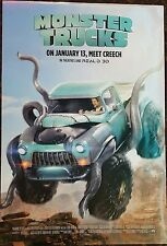 MONSTER TRUCKS Original Movie Poster 27x40 DS Authent Final Version