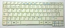 Keyboard Qwerty Spanish for Laptop Acer Aspire One ZG5 P/N: AEZG5P00040 White