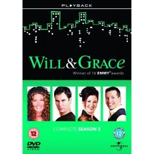 Will And Grace: Series 2 Box Set DVD