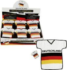 Magisches Handtuch 20x30cm Trikot Fussball Deutschland Fanartikel