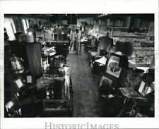 1986 Press Photo The Acme Supermarket with antique shop upstairs
