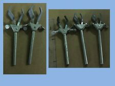 Used Three Prong Flask Chemistry Clamp: Small, Medium, or Large,