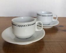 Cappuccino Mug And Saucer Set Of 2