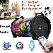 Portable Wireless Rechargeable Bluetooth Speaker 8W Super Bass Stereo Subwoofer