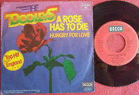 "The Dooleys / A Rose Has To Die / Hungry For Love 7"" Vinyl Single 1978"