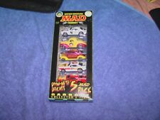2000 Racing Champions Dyno-Mite Diecast 5 Pack Mad Magazine Cars