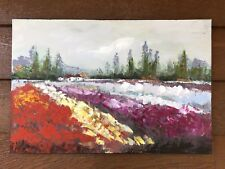 STUNNING LANDSCAPE OIL PAINTING ON CANVAS UNSIGNED