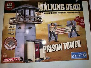 AMC The Walking Dead Building Sets Mcflarlane Toys Prison Tower Exclusive