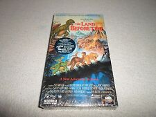 New ! The Land Before Time Vhs Dinosaur T-Rex Triceratops Brontosaurus Movie Mca