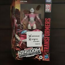 Transformers Arcee Kingdom Deluxe Generations War for Cybertron NIB Free Ship