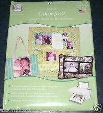 JUNE TAILOR 100% Cotton Colorfast White Fabric Sheets 25pk, Quilting, Sewing