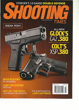 SHOOTING TIMES,   MARCH, 2014   ( STOEGER'S 12 GUAGE DOUBLE DEFENSE )