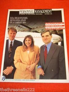 PERSONNEL MANAGEMENT - BA's HIGH FLYERS - SEPT 1994