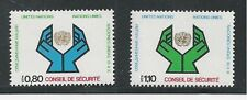 UNITED NATIONS, GENEVA # 67-68 MNH 1977 SECURITY COUNCIL, HANDS