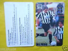 1998 phone cards 100 units alessandro del piero schede telefoniche telefonkarten