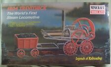 Minicraft 1804 Trevithick locomotive 1/38 plastic model